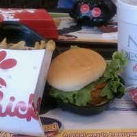 Photo taken at Chick-fil-A Humble by Rose C. on 5/23/2012