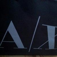 Photo taken at Armani Exchange by Felix N. on 7/26/2012
