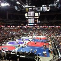 Photo taken at Wells Fargo Arena by Tyler V. on 2/18/2012