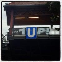 Photo taken at U Schlesisches Tor by Sascha André M. on 8/17/2012