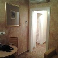 Photo taken at Hotel Roma Prague by Marat S. on 2/16/2012