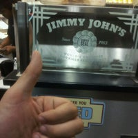 Photo taken at Jimmy John's by Jacob M. on 5/25/2012