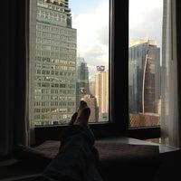 Photo taken at Distrikt Hotel New York City by Miranda M. on 4/24/2012
