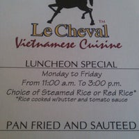Photo taken at Le Cheval by Nam V. on 6/13/2012
