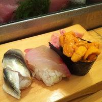 Photo taken at Daiwa Sushi by ellie ʕ. on 7/26/2012