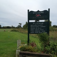 Photo taken at Bar Harbor Golf Course by Ryan S. on 9/9/2012