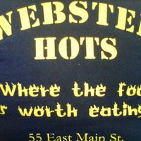 Photo taken at Webster Hots by Steven M. on 3/27/2012