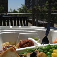 Photo taken at City Hall Plaza by Rodney B. on 7/24/2012