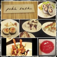 Photo taken at Poke Sushi by Tjin S. on 2/11/2012