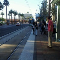 Photo taken at Thomas/Central Ave METRO by Judd S. on 4/13/2012