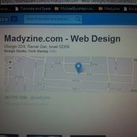 Photo taken at Madyzine.com - Web Design by Michael B. on 8/15/2012
