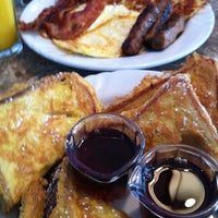 Photo taken at San Diego Home Cooking Mission Valley Cafe by Dan G. on 5/12/2012
