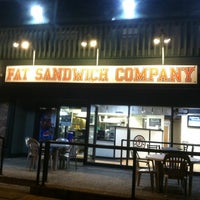 Photo taken at Fat Sandwich Company by Janet R. on 4/20/2012