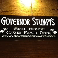 Photo taken at Governor Stumpy's by Willie K. on 2/25/2012