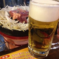 Photo taken at さっぽろ ジンギスカン 金の羊 by くらたこ on 5/11/2012