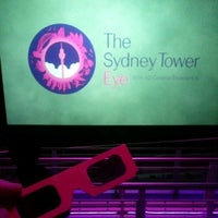 Photo taken at Sydney Tower Eye by Liam S. on 5/30/2012