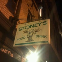 Photo taken at Stoney's Restaurant by Justin D. on 3/6/2012