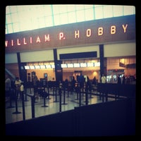 Photo taken at William P Hobby Airport (HOU) by Bethany W. on 8/18/2012