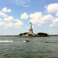 Photo taken at Statue of Liberty Ferry by Roberto M. on 8/12/2012