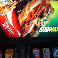 Photo taken at Subway Restaurant by Andre B. on 4/11/2012