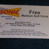 Photo taken at SONIC Drive In by Jacque M. on 8/20/2012