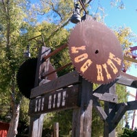 Photo taken at Timber Mountain Log Ride by Shannon B. on 9/2/2012