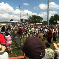 Photo taken at New Orleans Fairgrounds by Char B. on 4/29/2012