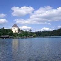 Das Foto wurde bei Schloss Fuschl Resort & Spa, Fuschlsee-Salzburg von Niki B. am 8/6/2012 aufgenommen