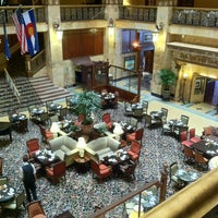 Photo taken at The Brown Palace Hotel and Spa by Jim on 7/14/2012