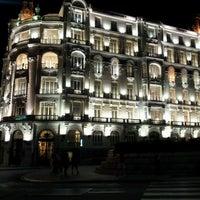 Photo taken at Plaza de Santa Ana by Juan M. L. on 8/25/2012