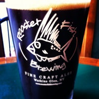 Photo taken at Rooster Fish Brewing Tasting Room and Beer Garden by Michael I. on 4/18/2012