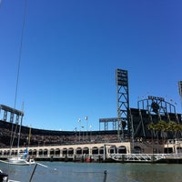 Photo taken at McCovey Cove by ryan k. on 8/11/2012