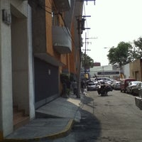 Photo taken at Banorte Tlalpan-Portales by Carlos S. on 5/5/2012