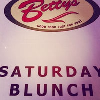 Photo taken at Betty's Restaurant by Casey H. on 5/26/2012