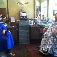 Photo taken at The Barber Sharp by Clara B. on 8/2/2012