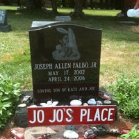Photo taken at Hillside Cemetery by Jennifer F. on 7/28/2012