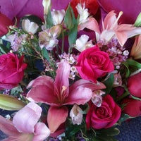 Photo taken at The Family Flower Shoppe by Sara S. on 2/14/2012