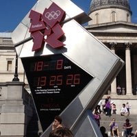 Photo taken at London 2012 OMEGA Countdown Clock by Iain S. on 8/18/2012