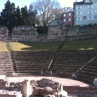 Photo taken at Teatro Romano by Nicolas L. on 3/2/2012