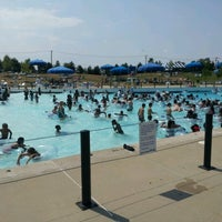 Photo taken at Red Oaks Waterpark by Jason T. on 6/30/2012