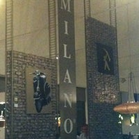 Photo taken at Milano Lounge Cafè by Cristina on 9/9/2012