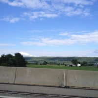 Photo taken at Pennsylvania Turnpike by Mikhail K. on 8/12/2012