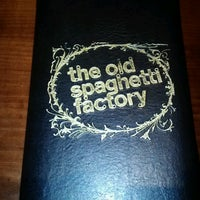 Photo taken at The Old Spaghetti Factory by Lottie P. on 7/18/2012