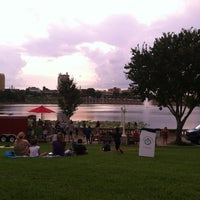 Photo taken at Frances Langford Promenade by Lorrie W. on 7/3/2012