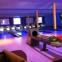 Photo taken at Flamingo Bowl by danielle on 5/22/2012