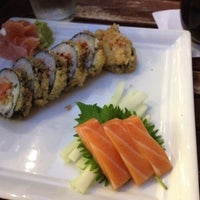 Photo taken at Friends Sushi by Aimee K. on 9/11/2012