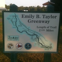 Photo taken at Emily B Taylor Greenway by Todd G. on 8/2/2012
