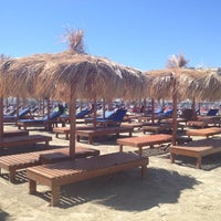 Photo taken at Villa Rosa - Bar Beach & Restaurant by Ilaria B. on 8/1/2012