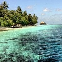 Photo taken at Vilamendhoo Island Resort & Spa by Mohamed A. on 7/27/2012