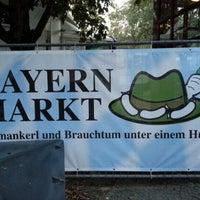 Photo taken at Bayernmarkt by Daniel J. on 9/7/2012